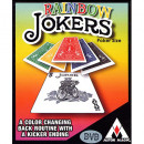 Rainbow Jokers - Bicycle Poker Karten und DVD